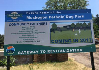 June 15, 2017 – Dog Park Construction is Underway