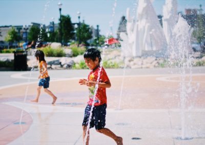 Celebration Square & Splash Pad