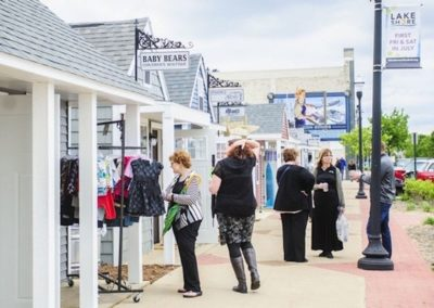 December 13, 2017 – Five new chalets will help expand Western Market in downtown Muskegon