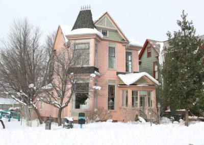 January 7, 2018 – Pink house in downtown Muskegon is transformed into boutique salon
