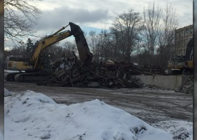 January 17, 2018 – Owners begin tear down of longtime vacant building in Muskegon